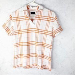 [Burberry] Golf Polo Short Sleeved Popover